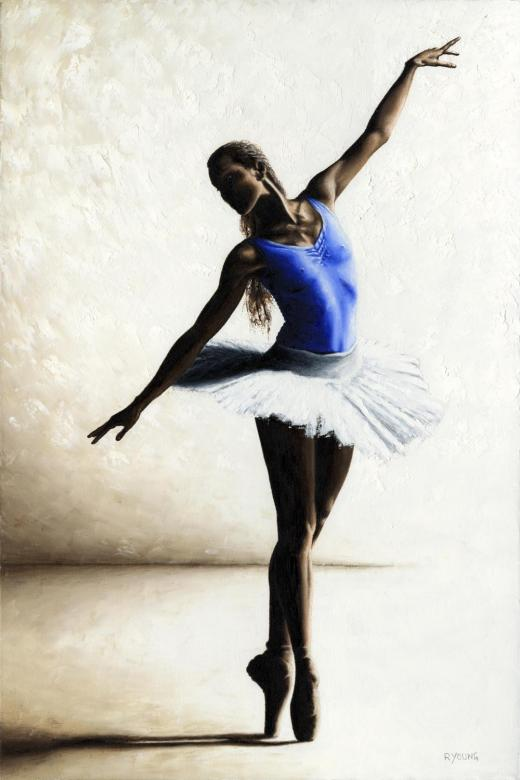 Dancers - Ballet Art Gallery.Inner Peace. Produced in cooperation with Klaus Kampert.