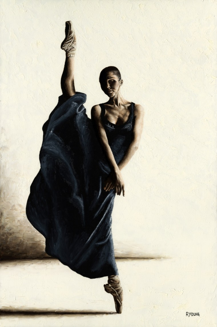 Dancers - Ballet Art Gallery. Equilibrium - Ira Perren. Produced in cooperation with Oleg Zotov.