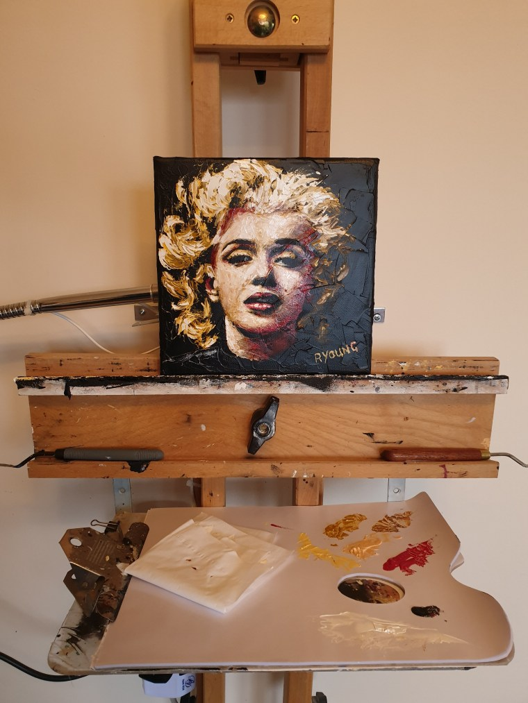 Some like it Hot 1 on easel 1