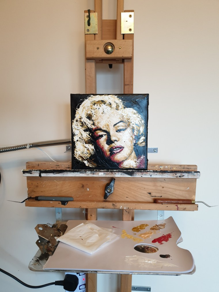 Some like it Hot 2 on easel 1