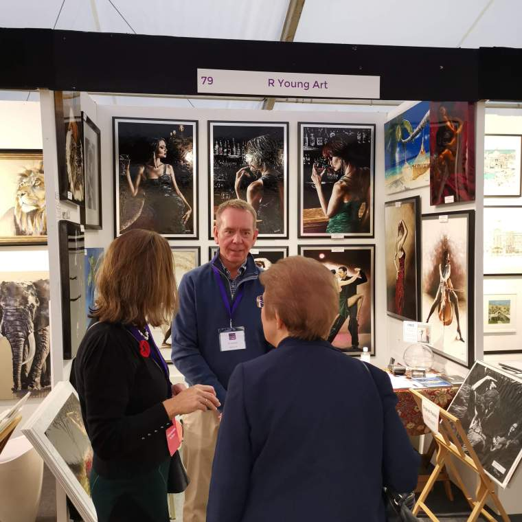 2019 Windsor Art Fair - Chatting to the organisers
