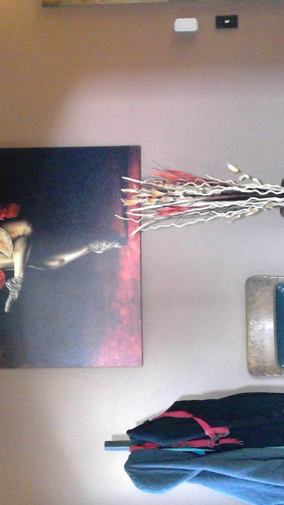 The Passion of Dance print on stretched canvas