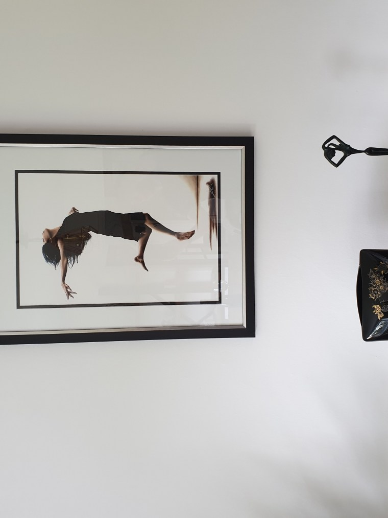 Leap Into the Unknown fine art print - framed2
