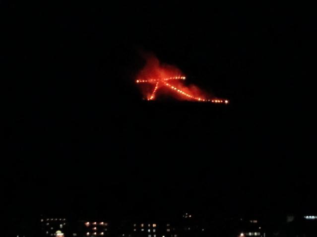 京都の送り火