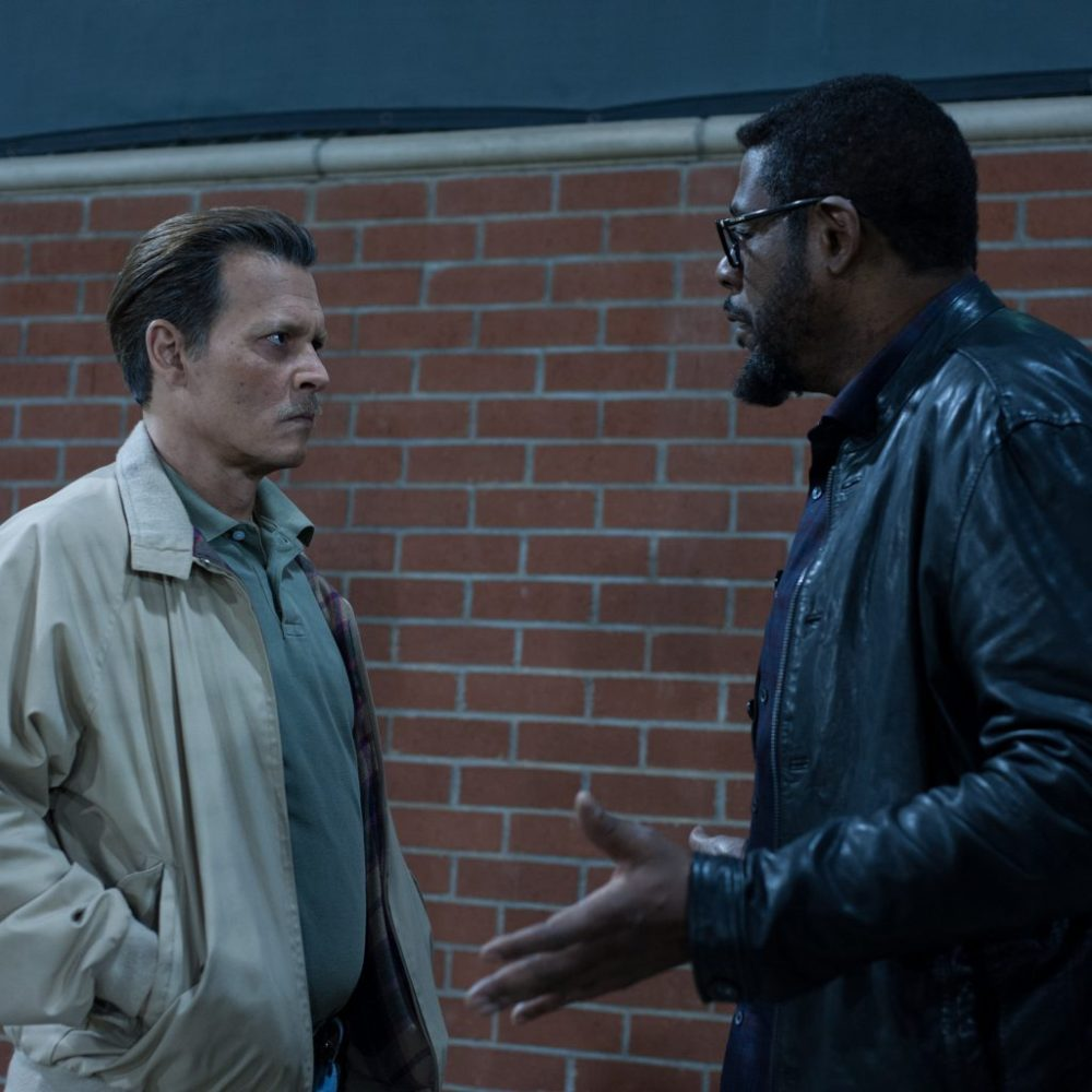 Johnny Depp is looking for the killer of Notarious in the City of Lies