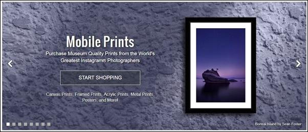 インスタグラムの写真が売れる?5つの販売テクと販売アプリ・サイト3選を紹介!モバイルプリントとは