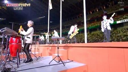 東京五輪閉会式に東京スカパラダイスオーケストラが登場