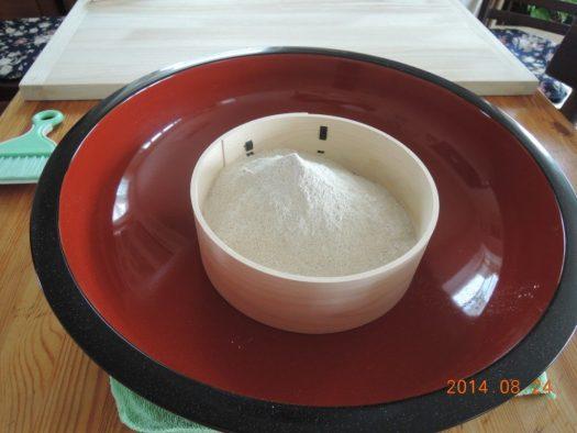 自家製蕎麦粉
