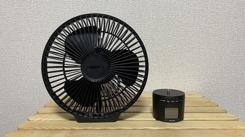 CLAYMORE fan V600+ 首振り