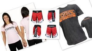 KORAL T-shirts&shorts