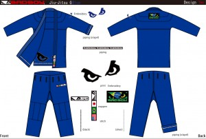 Jiu-Jitsu-Gi-Blue