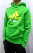 adidas kids hoodie jiujitsu