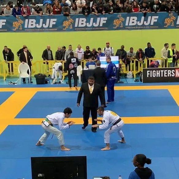 西林浩平選手EUROPEAN柔術選手権