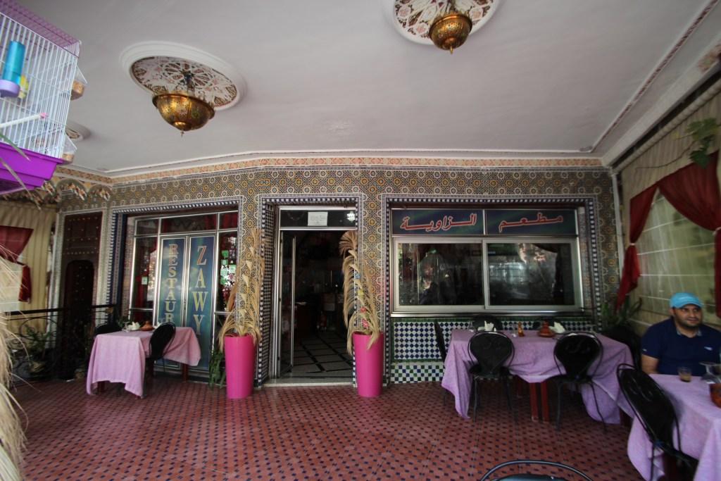 フェズ旧市街 レストラン