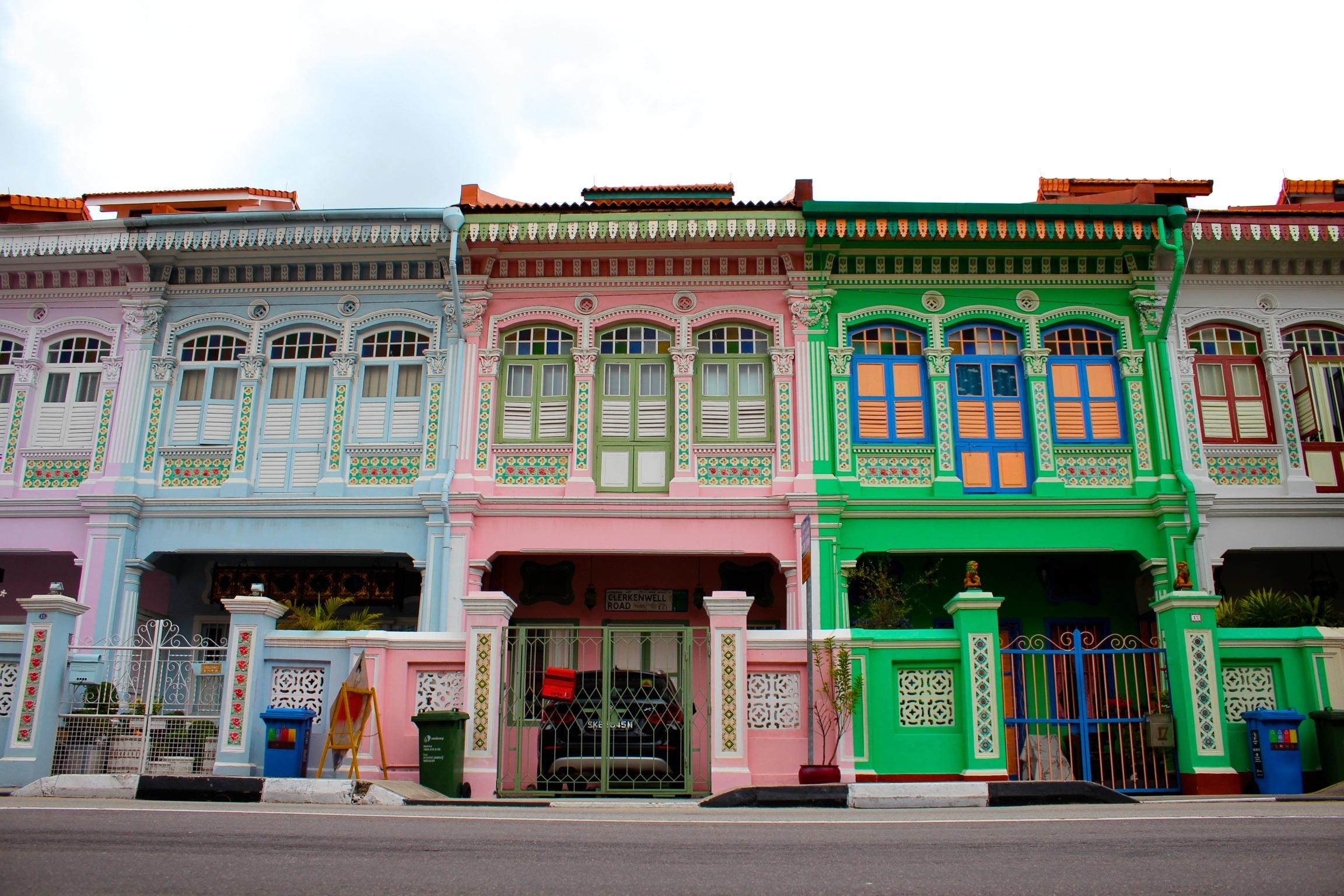 シンガポール 住宅エリア