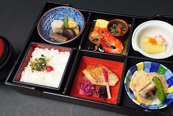 歌舞伎座の食事