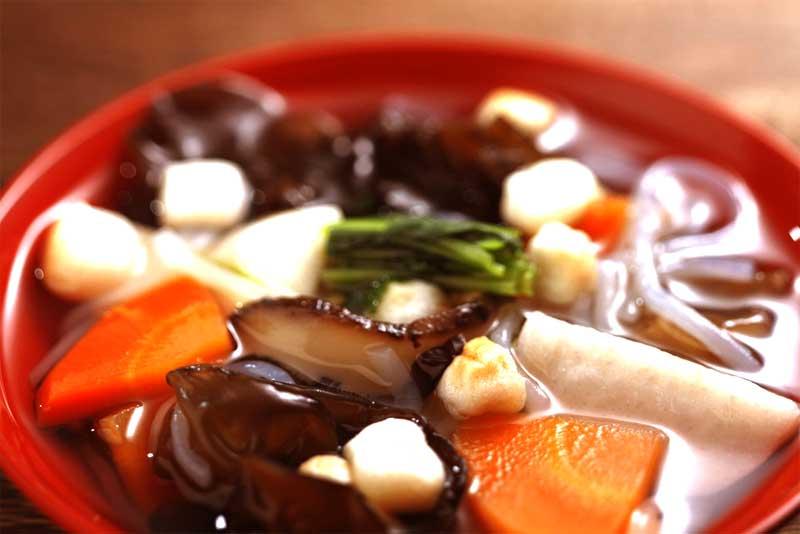 会津若松の郷土料理「こづゆ」