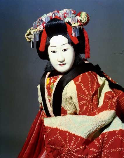 文楽の人形