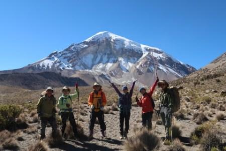 ボリビア最高峰サハマ登山隊2017無事終了です。