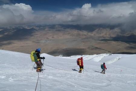 ムスターグ・アタ キャンプ2 6200m