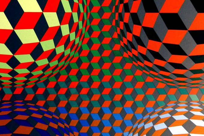 Victor-Vasarely-artwork