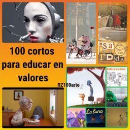 100 cortos geniales para trabajar valores con vuestr@s alumnos