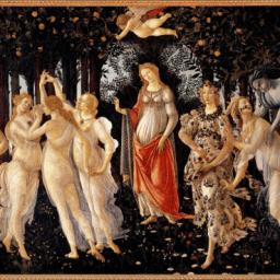 Arte en familia desde el salón: La Primavera de Botticelli