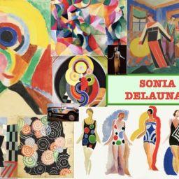 Arte en familia desde el salón: Los Delaunay. El simultaneísmo al alcance de los más pequeños