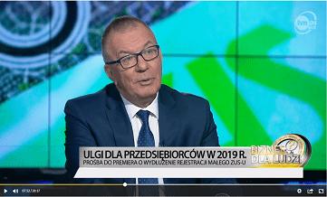 Adam Abramowicz - prośba do premiera o wydłużenie terminu w sprawie Małego ZUSu
