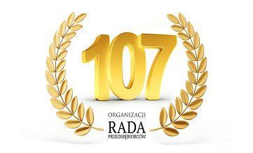 107-organizacji w Radzie Przedsiębiorców