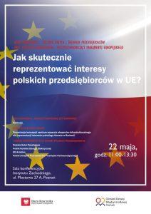 Jak skutecznie reprezentować interesy przedsiębiorców w UE? - zaproszenie na debatę w Poznaniu