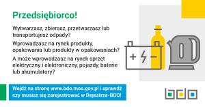 Przypomnienie o obowiązku rejestracji w BDO