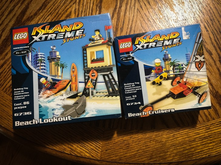 LEGO Island Xtreme Stunts sets