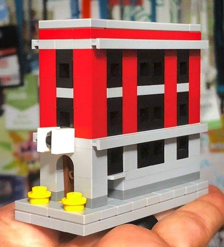 Microscale Lego Firehouse