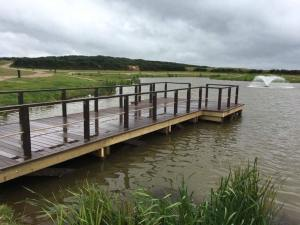 Gwel an Mor Lakeside Holidays | Bespoke Pontoon