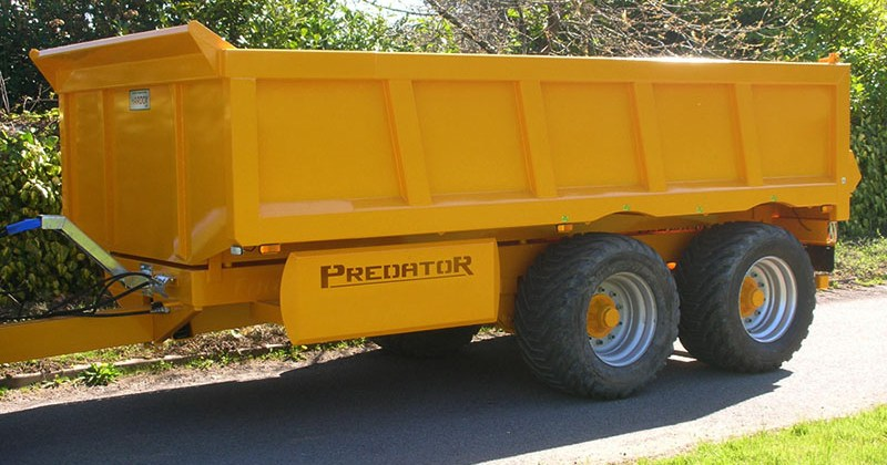 RZT LTD Dump Trailer For Hire Cornwall