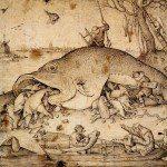 Wielkie ryby jedzą małe ryby (Peter Brueghel Starszy)