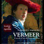 Rzym - wystawa Vermeer - plakat