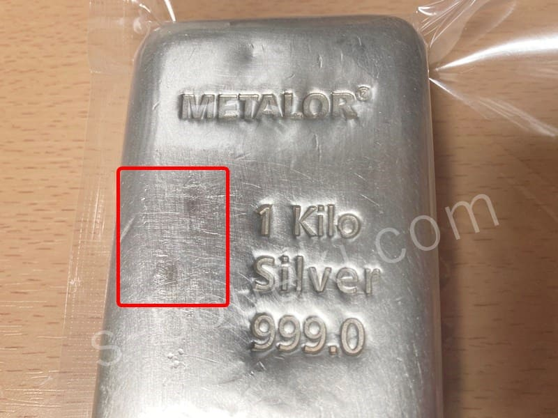 silver 1kg