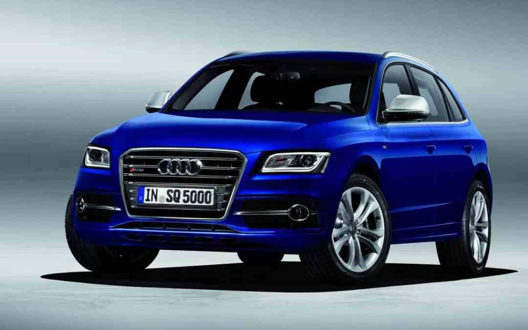 The New Audi SQ5 TDI: Twin Turbo V6 diesel with 313 HP