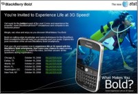 Blackberry Bold Launch Party