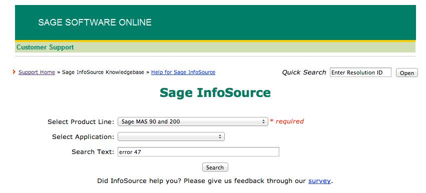 sage 100 knowledgebase