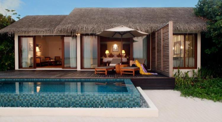 Вилла на Мальдивах в резорте The Residence Maldives