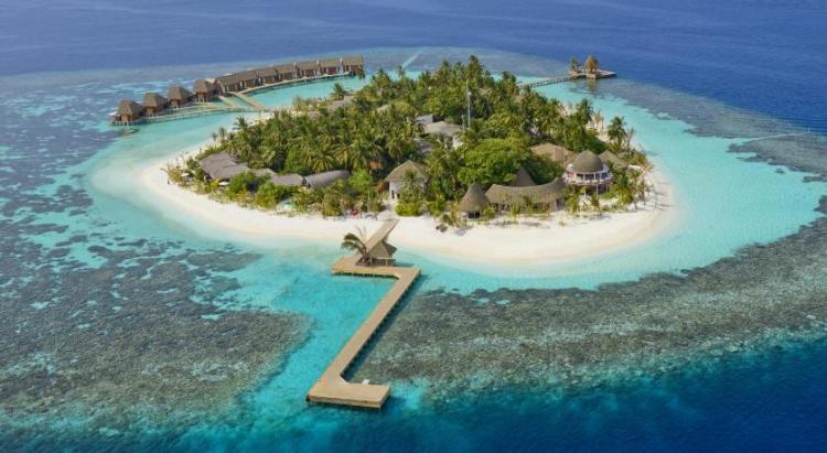 Дайвинг на Мальдивах - небольшой остров Kandolhu Island