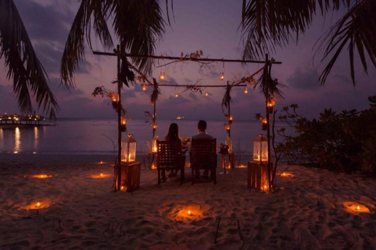 Остров Бандос Мальдивы