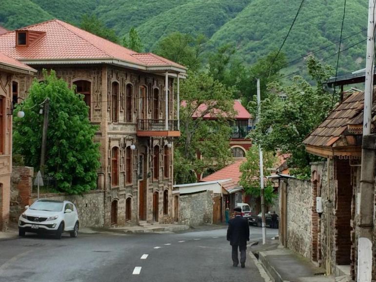 مدينة شاكي اذربيجان