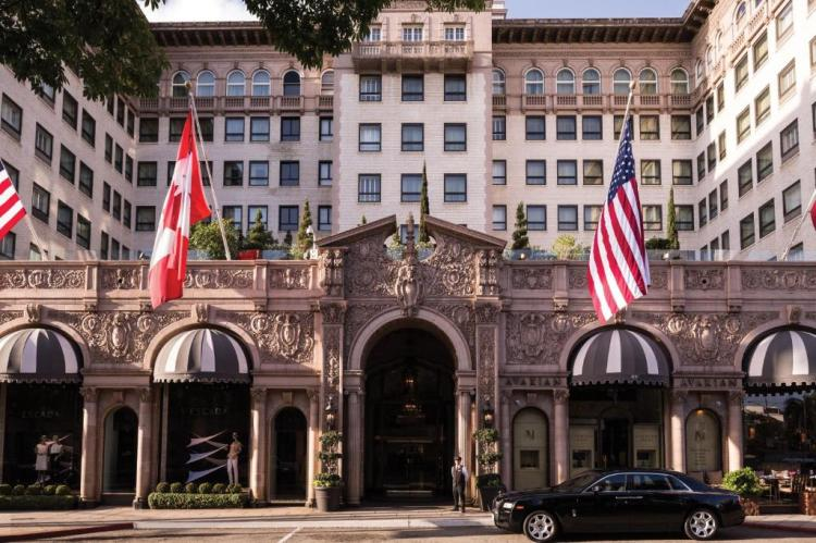 Отель Беверли-Уилшир (Beverly Wilshire) в Лос-Анджелесе