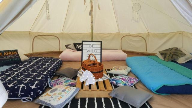 Image result for glamping society large tent