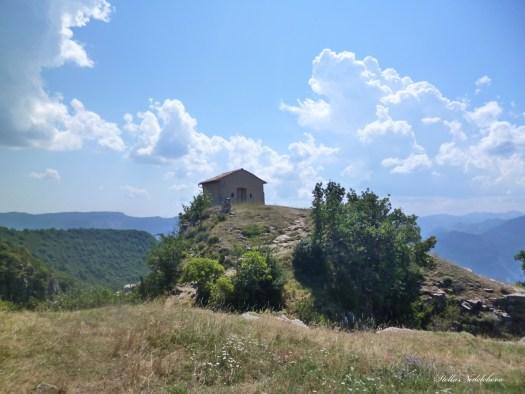 Chapelle dans les hauteurs des Alpes de Haute Provence