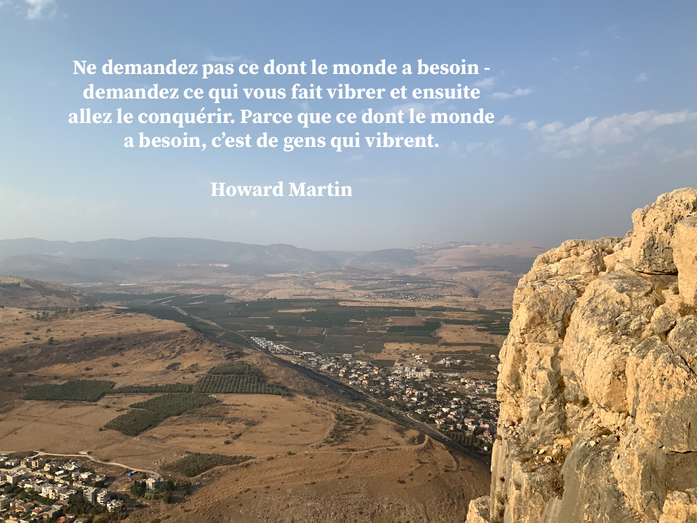 Citation sur le plus grand besoin du monde